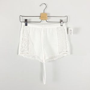 In Bloom by Jonquil Flying Lace Shorts NWT